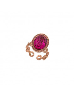 Lively ring - Fuchsia
