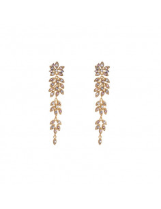 Petite Laurel earrings - Watercolors