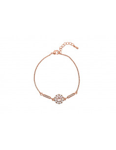 Miss Sofia bracelet Silk (Rose gold)