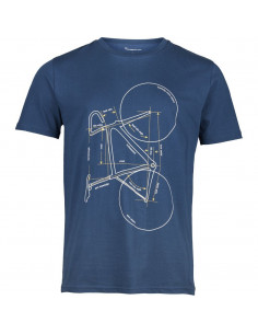 T-shirt with printed bike