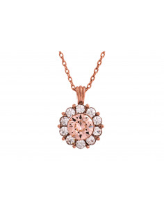 Sofia necklace Silk (rose gold)