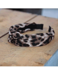 Leo hairband - Brown