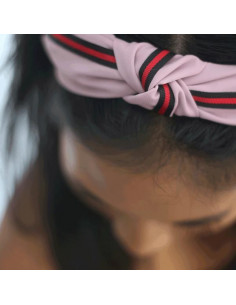 Piper hairband - Rosa