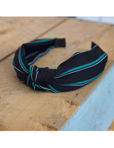 Gunhild Hairband - Black