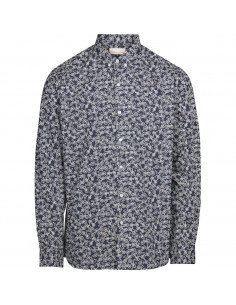 c - Poplin shirt with bike print