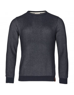 Knowledge Cotton - Raglan 2-toned knit