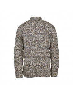 Knowledge Cotton - Flower printed shirt
