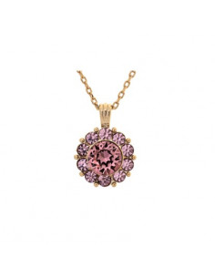 Sofia necklace - Antique pink