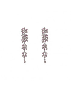 Petite Laurel earrings - Rose peach