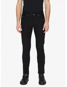 Damien Black Stretch Denim