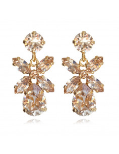Caroline Svedbom - MINI DIONE EARRING GOLD - SILK