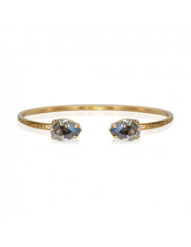 PETITE DROP BRACELETGOLD - BLACK DIAMOND