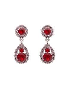 Sofia earrings - Scarlet