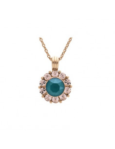 Sofia necklace - Royal green
