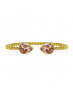 Caroline Svedbom - MINI DROP BRACELET GOLD - VINTAGE ROSE