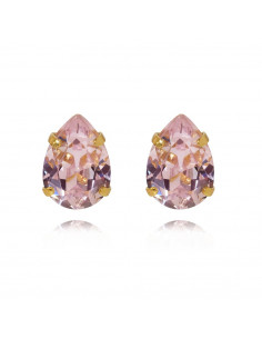 MINI DROP STUDS GOLD - ROSALINE
