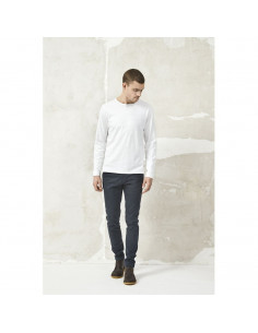 Cotton slope long sleeve