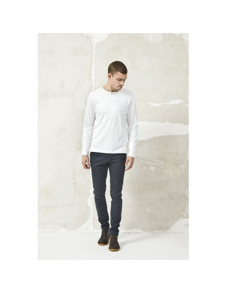 Knowledge Cotton - Cotton slope long sleeve