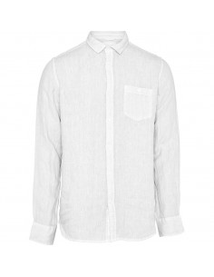 Knowledge Cotton - Linen short sleeved shirt