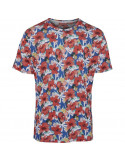 T-shirt with all over print