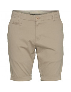 Knowledge Cotton - Stretched chino regular shorts