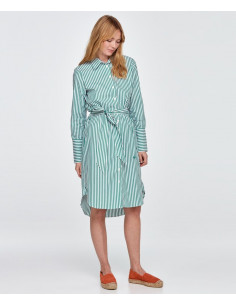 Morris Lady - Chiara Striped Shirt Dress