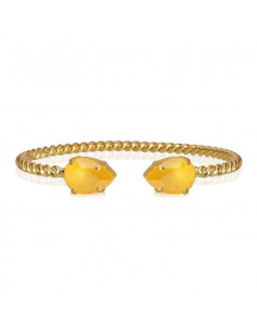 MINI DROP BRACELET GOLD - BUTTERCUP YELLOW