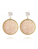ALEXANDRA CRYSTAL ROCKS EARRING GOLD - MOONLIGHT