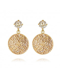 CHLOE EARRING GOLD - MOONLIGHT