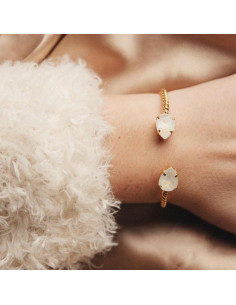MINI DROP BRACELET GOLD - LIGHT DELITE
