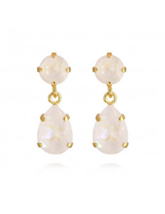 MINI DROP EARRINGS GOLD - LIGHT DELITE