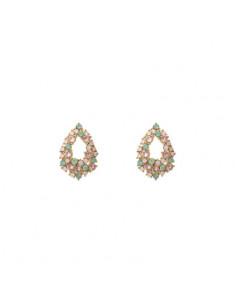 Petite Alice earrings - Rainbow