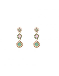 Petite Sienna earrings - Rainbow