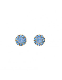 Miss Sofia earrings - Blue rainbow