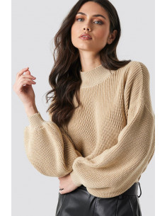 Big Sleeve Knitted Sweater