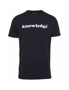 Knowledge printed O-Neck Tee