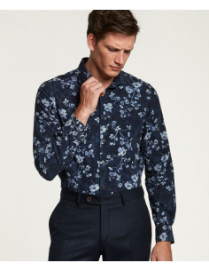 Morris - Matteo Spread Collar Shirt