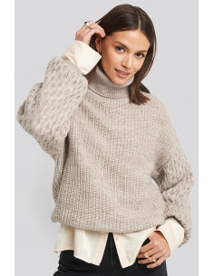 NA-KD - Sleeve Detailed Knitted Sweater