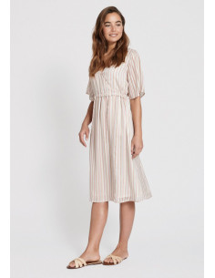 Dry Lake - BOHO MID DRESS