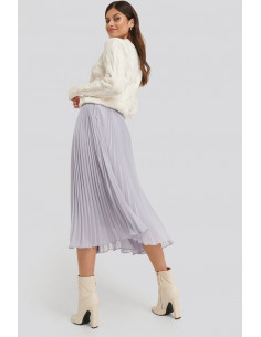 Ankle lenght pleated skirt